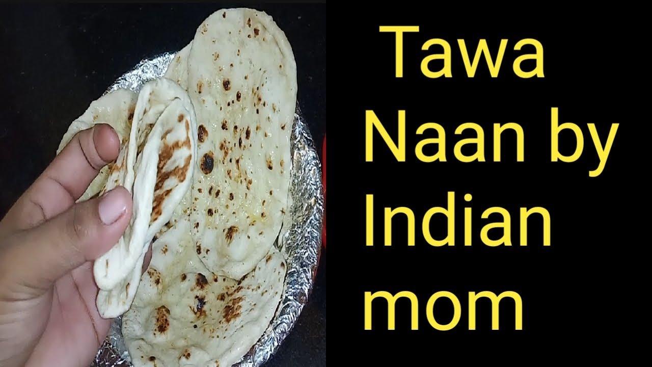 # how to make tandoori naan at home without oven& tandoor   Tawa naan recipe