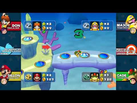 """Mario Party 5: """"Press F for Major"""" - EPISODE 4 - Friends Without Benefits"""