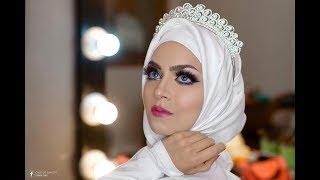لوك عروسه -  Barbie Bridal Look  - بالشرح مع ميكب ارتست اسراء جاد