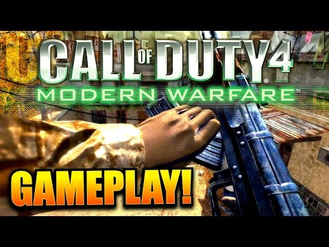 Call of Duty 4 Remastered: LIVE Early access online gameplay