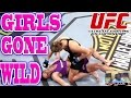 EA Sports UFC Gameplay - Ronda Rousey vs Cat Zingano - GIRLS GONE WILD!