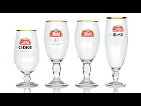 Stella Artois Glassware