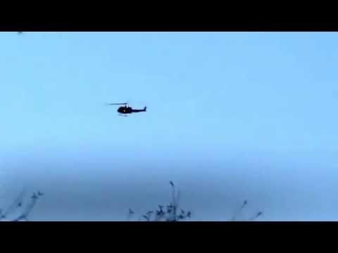 Snohawk 10 returning to Taylor's landing after assisting at Oso Mudslide