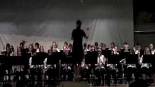 """Fanfare for the Unsung Hero"" performed by 7th Grade Band, Fairfield Middle School, Iowa"