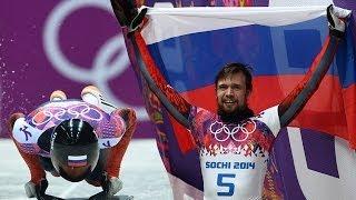 Александр Третьяков стал олимпийским чемпионом по скелетону