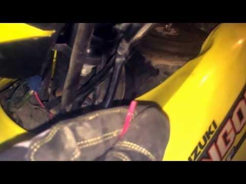 badland 2500 winch hook up