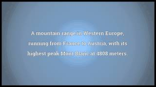 Alps Meaning