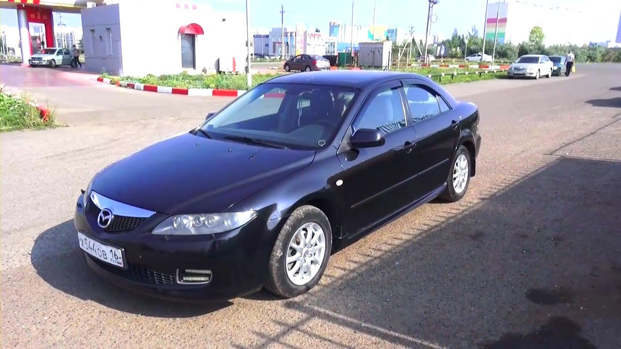 2006 mazda 6 start up engine and in depth tour youtube. Black Bedroom Furniture Sets. Home Design Ideas