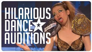 Hilarious, weird & wacky dance routines on Got Talent from around the world