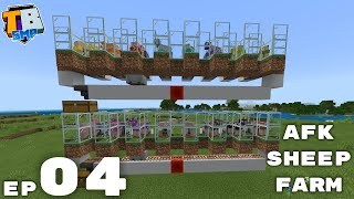 Simple Auto Sheep Farm And Shenanigans - Truly Bedrock Season 2 Minecraft SMP Episode 4