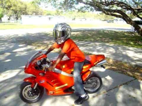 150cc Pocket Bike Youtube