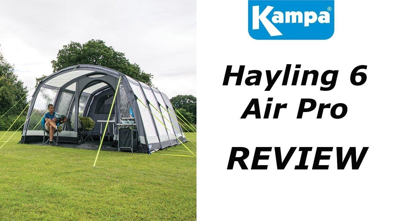 Kampa Hayling 6 AIR - YouTube