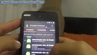 Eliminar / Quitar Cuenta Google Lanix X210 / X220 ( Remover Frp )