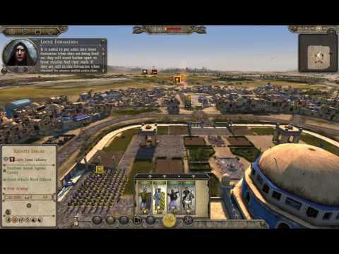 Attila Total War: Sassanids Vs White Huns