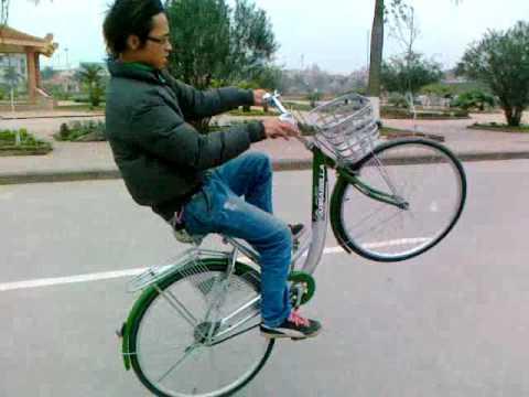 Locha bốc đầu xe đạp