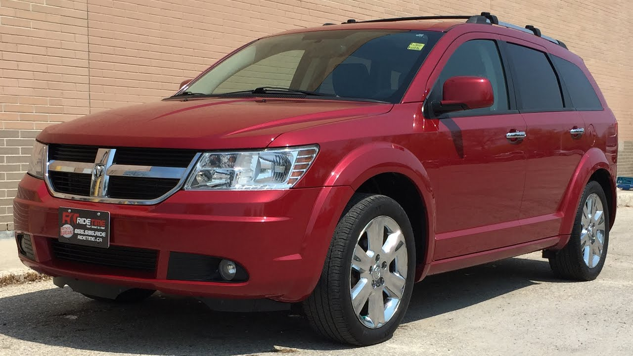 2009 Dodge Journey R T Leather Heated Seats Chrome Alloy Wheels 7 Penger Huge Value