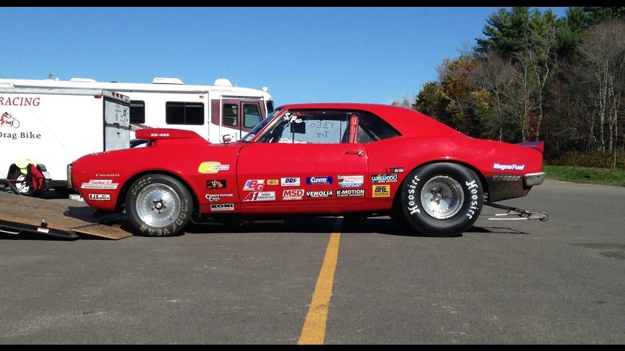 67 Firebird Drag Car Check | Pure Pontiac! - YouTube