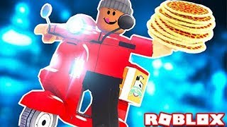 The FASTEST DELIVERY of PIZZA in Bloxburg! | ROBLOX Adventures!