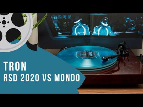 Tron Vinyl Soundtrack Unboxing & Review - RSD 2020 vs Mondo Release