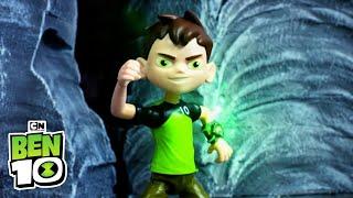 Ben 10 | Omni-Enhanced Toys Battle Compilation | Cartoon Network