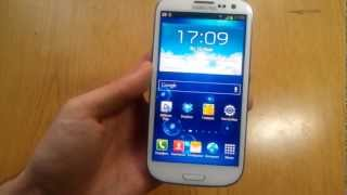 Обзор Samsung Galaxy SIII