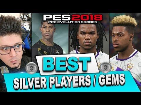 PES 2018 myClub Best Silver Players | myClub Gems