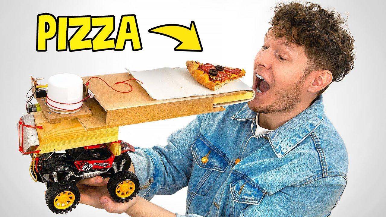 Rube Goldberg's Machine That Makes Pizza!