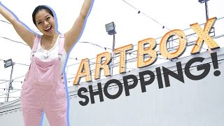 Artbox is in Singapore for the very first time ever so in this epis...