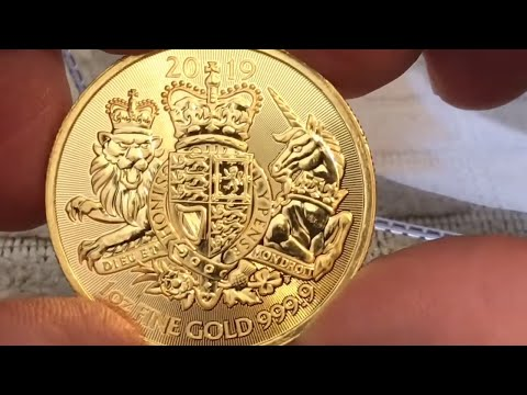Disappointing 1 Oz Gold Unboxing | British Royal Arms