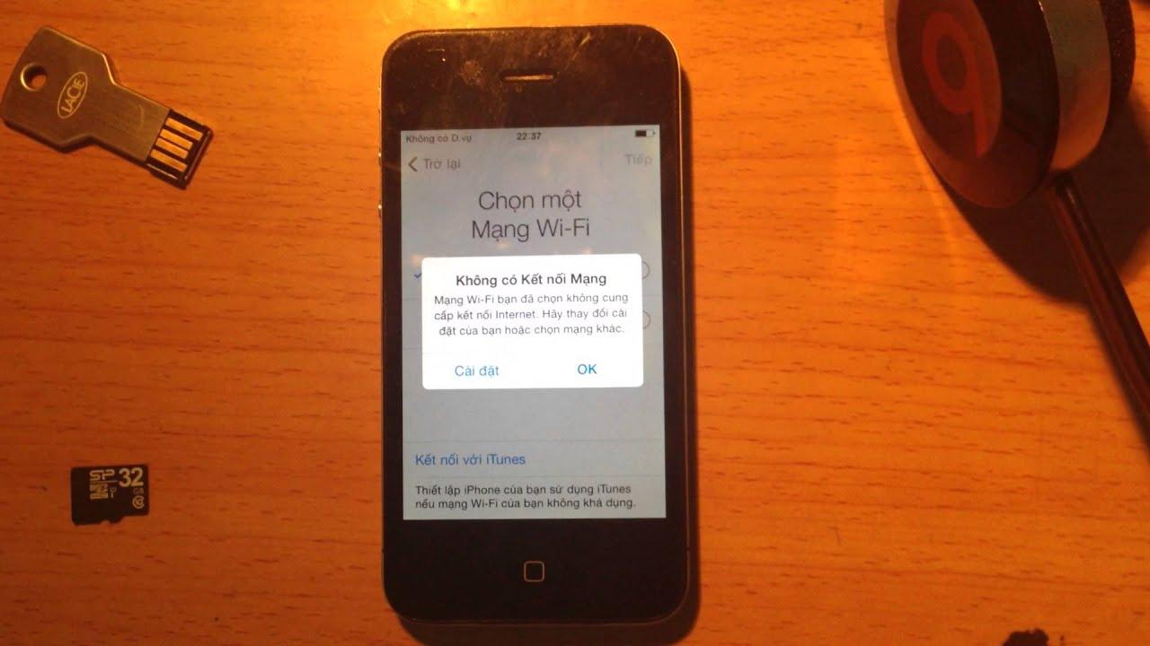 Hướng dẫn sử dụng Iphone khi bị dính icloud - Update ngày 19.11.2015