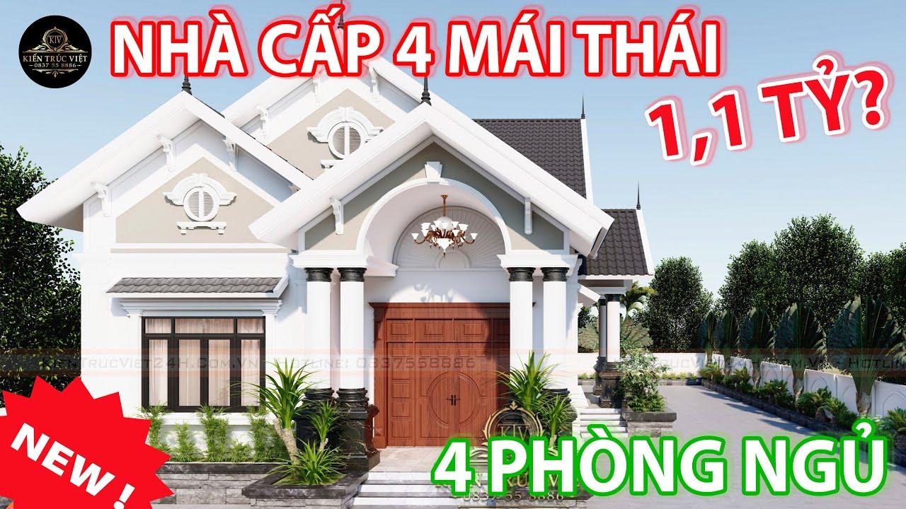 image Gợi ý mẫu cấp 4 mái thái đẹp nhất Tiền Giang 10x24m