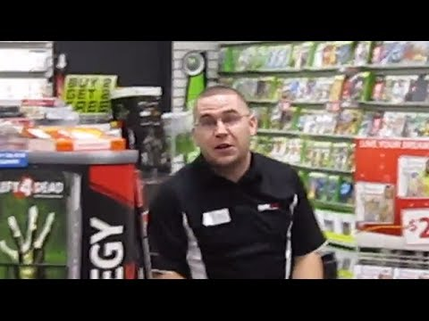 This Man Flips Out About His Job At Gamestop