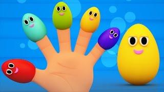 surpresa família ovos dedo | a canção dedo família | Surprise Eggs | Finger Family Song