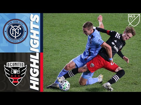 New York City FC vs. D.C. United | MLS Highlights | October 7, 2020