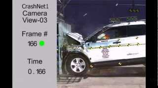 Ford Explorer | Frontal Crash Test | High Speed Camera | 2013 Nhtsa | Full Length Test In Hd