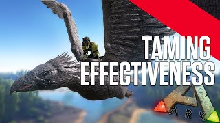 ARK: Survival Evolved - Taming Effectiveness