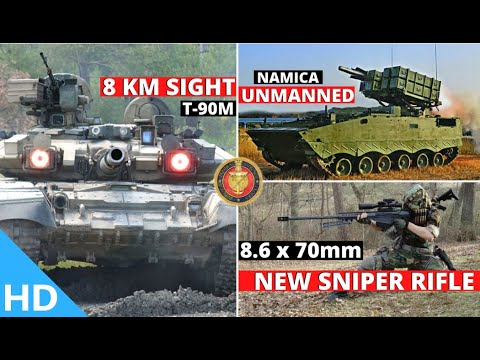 Indian Defence Updates : Unmanned NAMICA Ready,8 Km T90 Sight,Konkurs Equipment,New 8.6x70mm Sniper