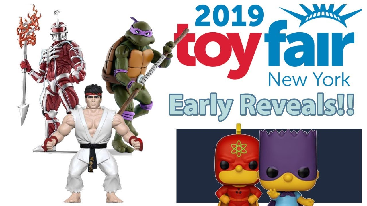 New York Toy Fair 2019 Early Reveals From Funko Neca