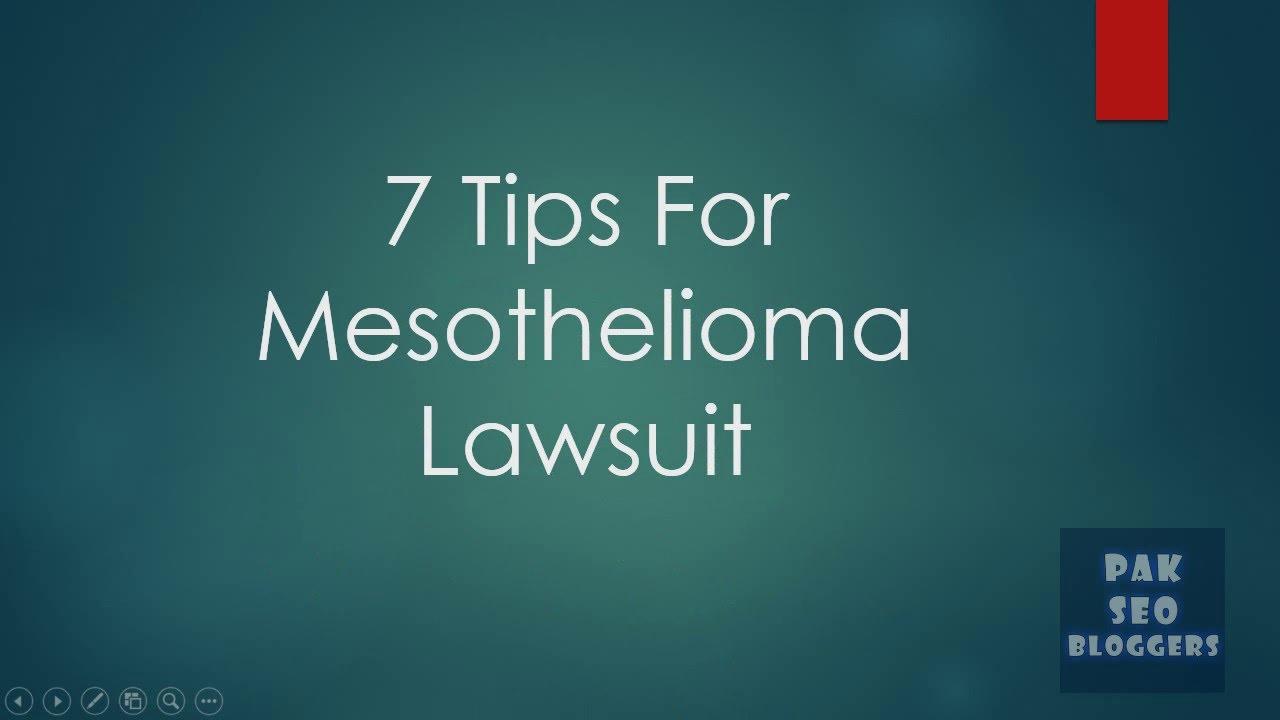 Mesothelioma Lawsuit -