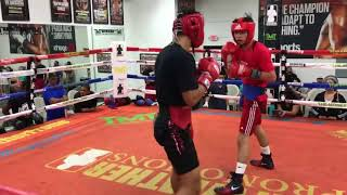 Ryan Garcia vs Rolando Romero sparring highlights