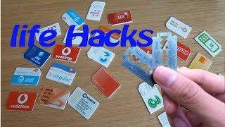 Sim Card stuck in sim slot (life hack )