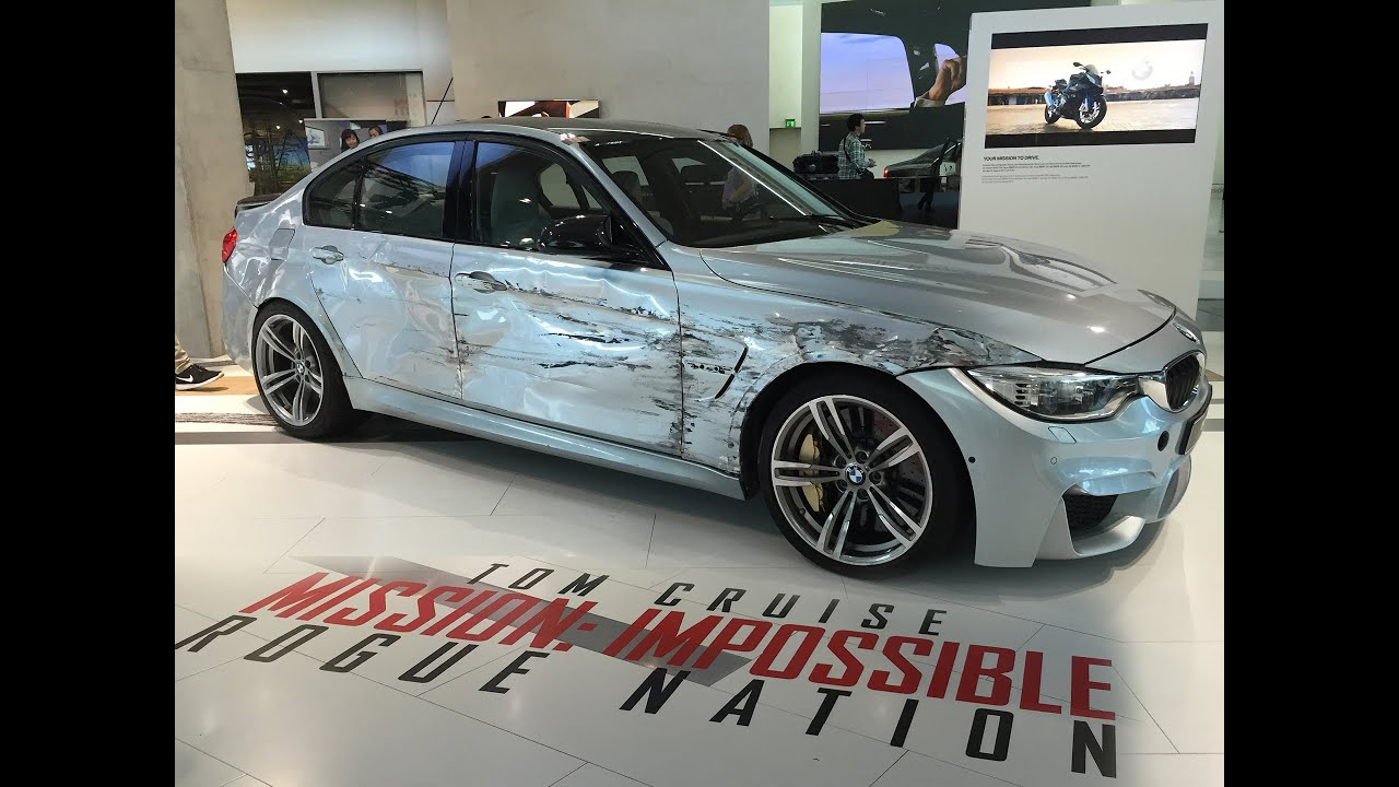 Mission Impossible Rogue Nation Bmw Movie Stunt Car With Shooting Holes
