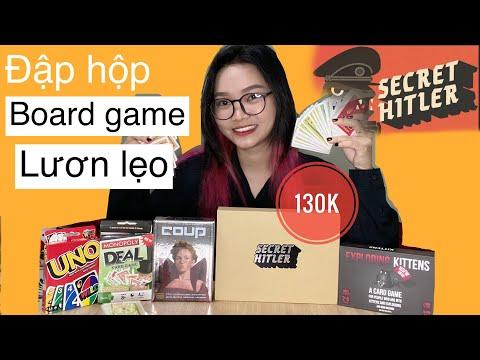 [board game] ĐẬP HỘP SECRET HITLER, COUP, UNO, MÈO NỔ, MONOPOLY DEAL- NHỮNG CON GAME LƯƠN THỊ LẸO