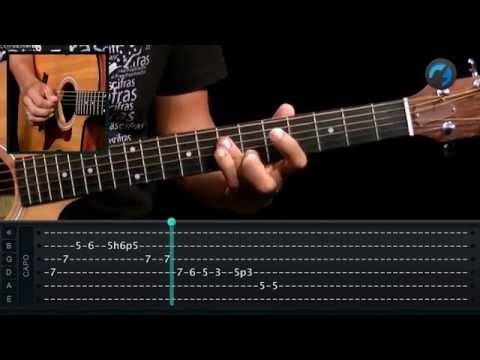 Eric Clapton - Layla (como tocar - aula de violão)