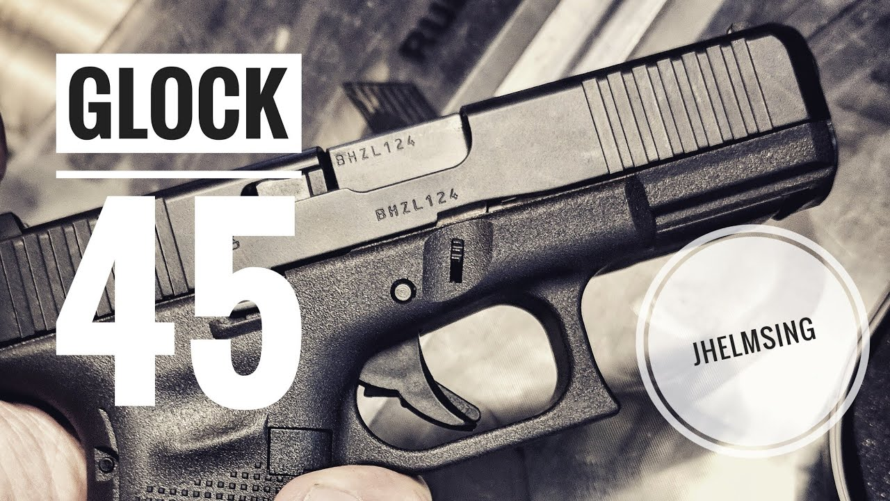 Glock 45 Gen 5 Review The Glock 19x Gets Demilitarized Youtube
