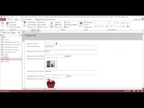Como crear un formulario en access 2007 paso a paso