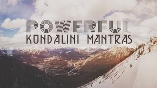 Download lagu 9 POWERFUL KUNDALINI MANTRAS | Mantras for Peace & Positive Energy