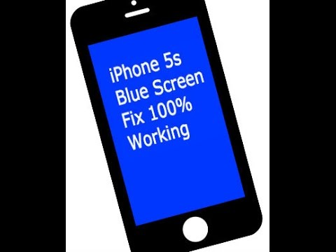 iphone 5s blue screen iphone 5s blue screen of fix 100 working 14750