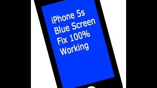 iPhone 5s Blue Screen of Death Fix 100% Working(, 2014-12-16T09:45:55.000Z)