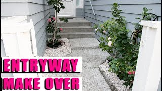 ENTRYWAY MAKEOVER - CHEAP and EASY